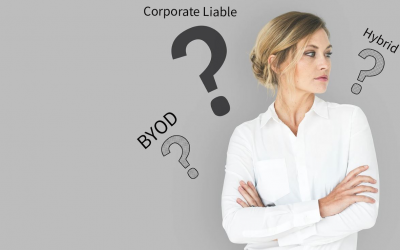 BYOD vs. Corporate Liable vs. Hybrid, which is best?