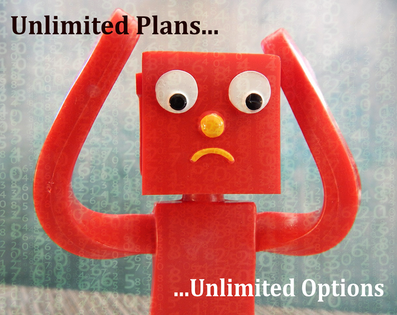 Unlimited Plans With Unlimited Options